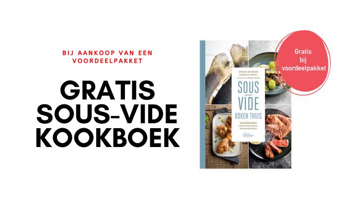 Graits kookboek sousvide koken bij aankoop van voordeelpakket